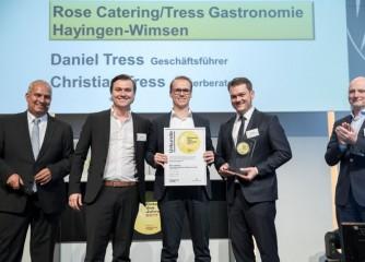 Rose Catering Service als Caterer des Jahres 2017 ausgezeichnet