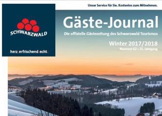 Termine für Gäste-Journal Frühjar/Sommer 2018