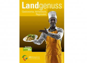 "Neue Broschüre ""Landgenuss"""