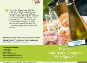 """Weiterbildung zum """"Naturpark-Gastgeber Wein Spezial"""""""