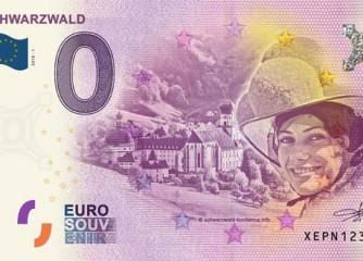 Neues Schwarzwald-Souvenir: echter Geldschein
