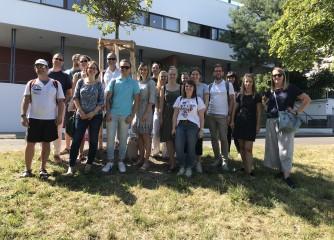 TMBW-Team auf Infotour durch Stuttgart