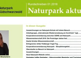 Aktuelle Infos aus dem Naturpark Südschwarzwald