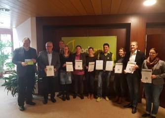 Wanderzuwachs für die Alb: Erste Premiumwanderwege der »hochgehberge« zertifiziert