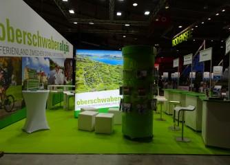 Die Ferienregion Oberschwaben-Allgäu präsentiert sich auf der Urlaubsmesse CMT 2019 und Fahrrad- & WanderReisen in Stuttgart