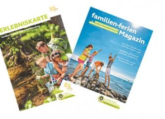 familien-ferien Magazin und Erlebniskarte