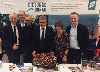 Junge Donau präsentiert sich in Berlin