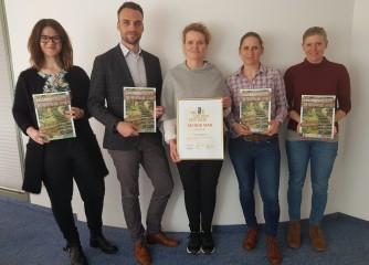 """Tourismus GmbH Nördlicher Schwarzwald hat zum zweiten Mal """"Second Star"""" beim """"Goldenes Stadttor"""" in Berlin gewonnen"""