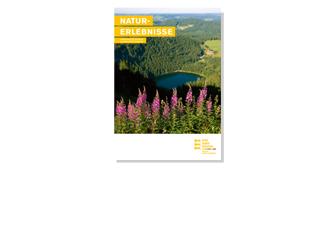 """Neue Broschüre """"Naturerlebnisse für Gruppen"""" erschienen"""
