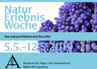 NaturErlebnisWoche vom 05.-12. Mai 2019