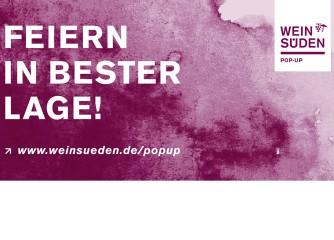 """Landesweite Veranstaltungsreihe """"Weinsüden Pop-up"""""""