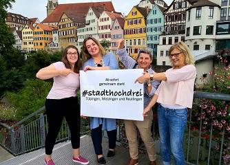 #stadthochdrei – Tübingen, Metzingen und Reutlingen in gemeinsamer Sache
