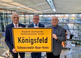"""Heilbäderverband Baden-Württemberg stellt Marketing-Maßnahmen für 2020 vor / Minister Wolf sieht """"großes Potenzial"""""""