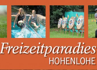 "Neue Broschüre ""Freizeitparadies Hohenlohe"""