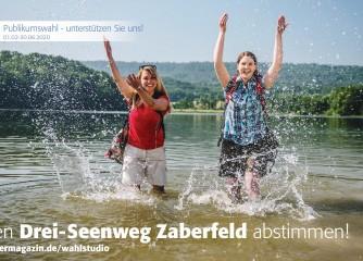 Stimmen sammeln für den Drei-Seenweg in Zaberfeld
