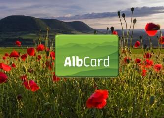 Startschuss für die AlbCard