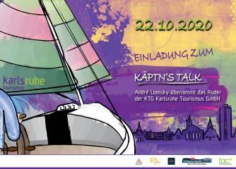 Käptn´s Talk der KTG Karlsruhe Tourismus GmbH