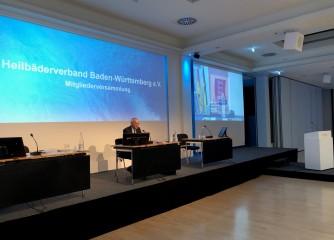 Mitgliederversammlung des Heilbäderverbandes Baden-Württemberg e.V. – digital
