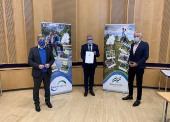 Land fördert Modellkonzeption für Tourismus im Donaubergland