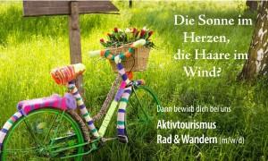 Stellenangebot HeilbronnerLand | Projektassistenz Aktivtourismus - Schwerpunkt Rad & Wandern