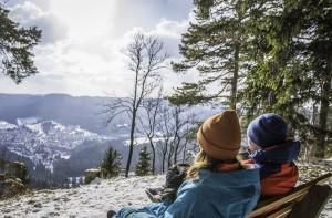 """Winterwandern auf dem """"Schneewalzer"""" in Albstadt"""