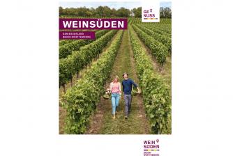 Neuauflage: Weinsüden Faltkarte