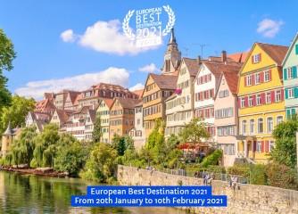 """Tübingen von """"European Best Destinations"""" (EBD) für 2021 nominiert – Jetzt abstimmen!"""