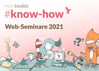 Termine für mein.toubiz Web-Seminare im März 2021