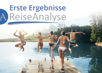 Erste Ergebnisse der Reiseanalyse 2021