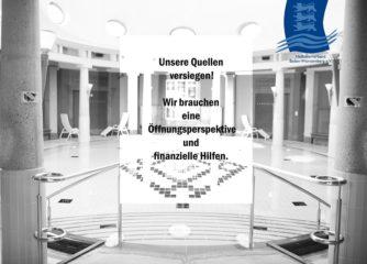 Bericht bei Baden TV: Heilbäderverband schlägt Alarm