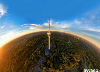 BW von oben – Luftbildaktion von Achim Mende