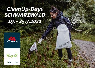 NEU: Jetzt mitmachen bei den 1. Schwarzwald CleanUp-Days (19. bis 25. Juli 2021