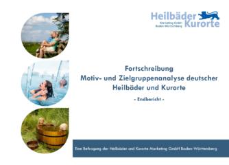 Neue Studie über Gäste der Heilbäder und Kurorte erschienen
