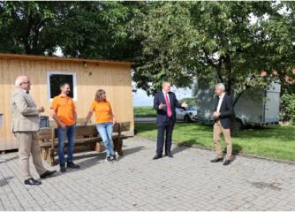 Staatssekretär Dr. Patrick Rapp zu Gast in der Genießerregion Hohenlohe