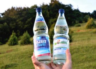 Die AlbCard goes EiszeitQuell – Erlebnistipp auf den Glasflaschen der Romina Mineralbrunnen GmbH
