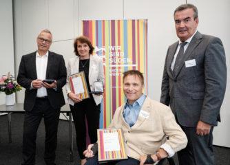 Verdienstmedaille für Ariane Born und Hans-Peter Matt
