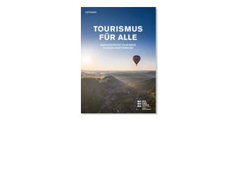 """Neuer Leitfaden """"Tourismus für Alle"""""""